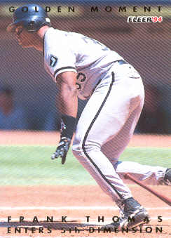 1994 Fleer Golden Moments #9 Frank Thomas