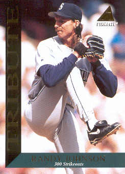 1994 Pinnacle Tribute #TR9 Randy Johnson