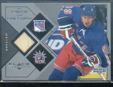 1999-00 Black Diamond A Piece of History #WG Wayne Gretzky