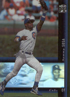 1994 SP Holoviews #37 Sammy Sosa