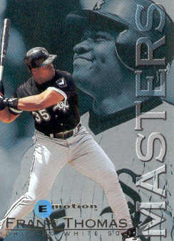 1995 Emotion Masters #9 Frank Thomas