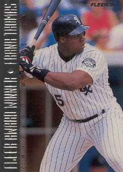 1995 Fleer Award Winners #1 Frank Thomas