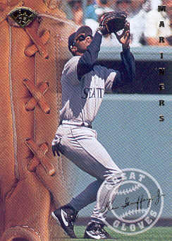 1995 Leaf Great Gloves #6 Ken Griffey Jr.