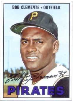 1967 Topps #400 Roberto Clemente DP