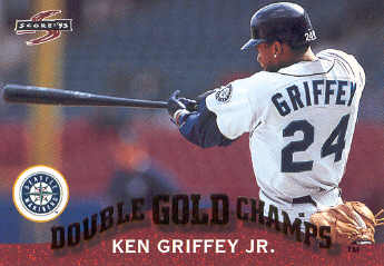 1995 Score Double Gold Champs #GC2 Ken Griffey Jr.