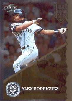 1995 Score Hall of Gold #HG41 Alex Rodriguez