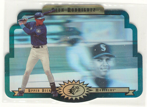 1996 SPx Gold #57 Alex Rodriguez