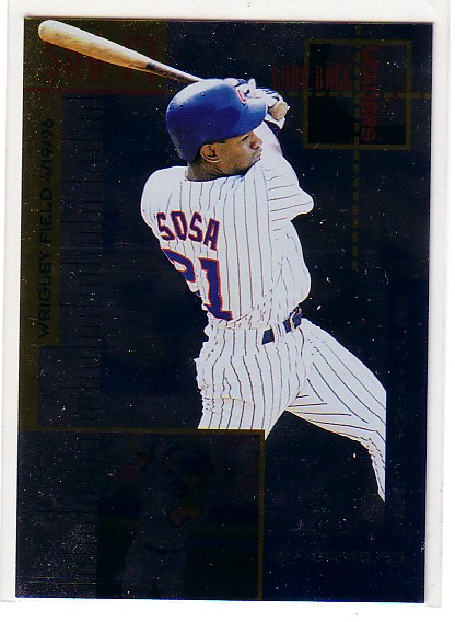 1997 Donruss Longball Leaders #11 Sammy Sosa