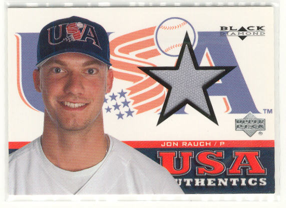 2000 Black Diamond Rookie Edition #146 Jon Rauch USA RC