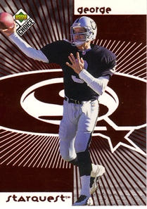 1998 UD Choice Starquest Red #3 Jeff George