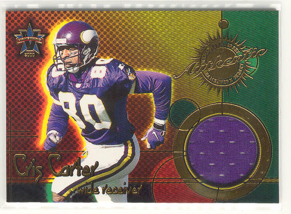 2000 Vanguard Game Worn Jerseys #1 Cris Carter