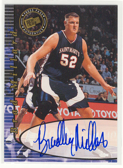 2000 Press Pass Autographs #17 Brad Millard