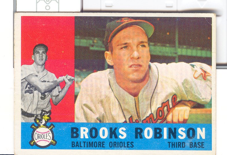 1960 Topps #28 Brooks Robinson