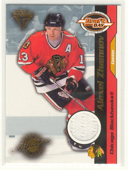 2000-01 Titanium Draft Day Edition #22 Alexei Zhamnov/1020