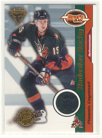 2000-01 Titanium Draft Day Edition #79 Radoslav Suchy/1015