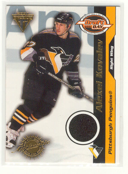 2000-01 Titanium Draft Day Edition #84 Alexei Kovalev/1015