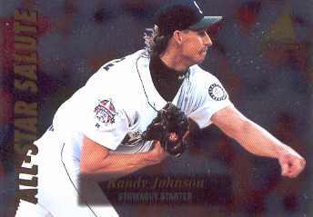 1995 Zenith All-Star Salute #9 Randy Johnson
