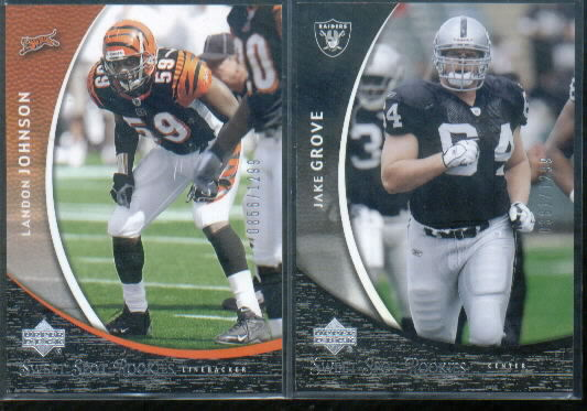 2004 Sweet Spot #124 Landon Johnson RC