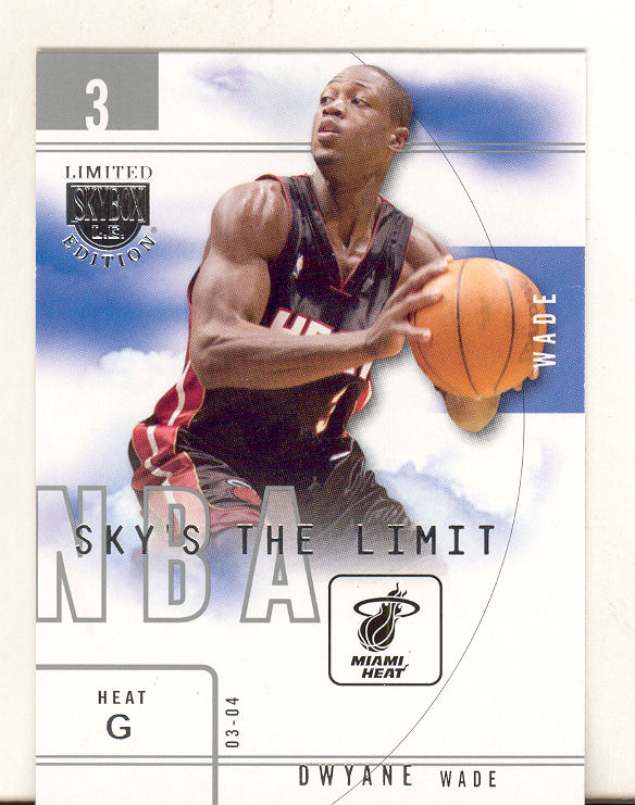 2003-04 SkyBox LE Sky's the Limit #20 Dwyane Wade