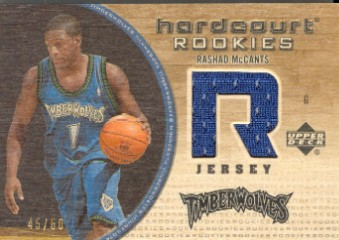 2005-06 Upper Deck Hardcourt Rookie Jerseys/Wood #136WJ Rashad McCants