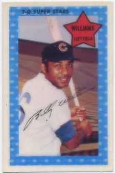 1971 Kellogg's #61 Billy Williams