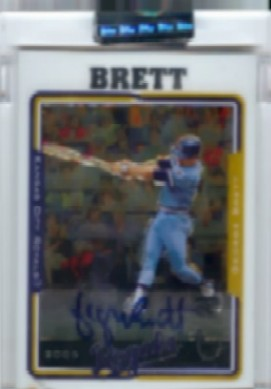 2005 Topps Retired Signature Autographs #GB George Brett B/70 *