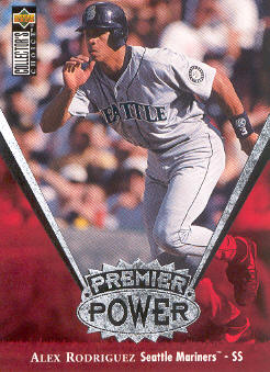 1997 Collector's Choice Premier Power #PP18 Alex Rodriguez