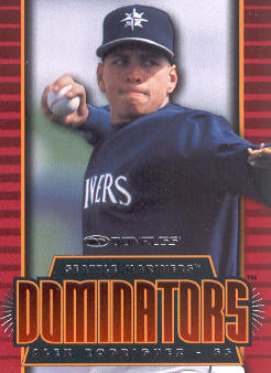 1997 Donruss Dominators #5 Alex Rodriguez