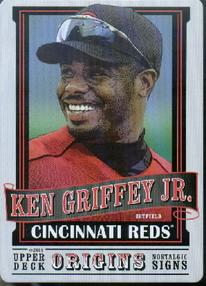 2005 Origins Nostalgic Signs #KG Ken Griffey Jr.