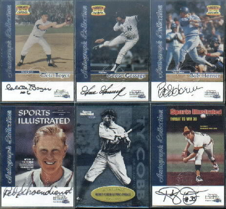 1999 Sports Illustrated Greats of the Game Autographs #67 Red Schoendienst