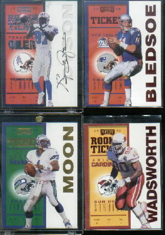 1998 Playoff Contenders Ticket #99 Kevin Dyson AU/500*
