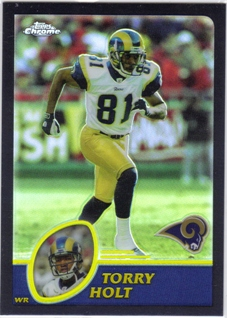 2003 Topps Chrome Black Refractors #111 Torry Holt