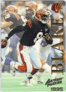 1995 Action Packed #11 Jeff Blake RC