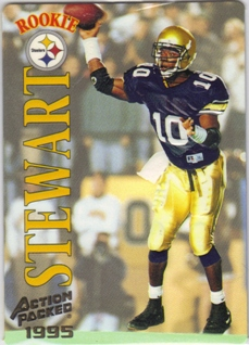 1995 Action Packed #120 Kordell Stewart RC
