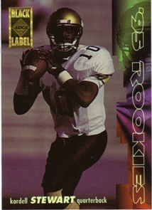 1995 Collector's Edge Rookies Black Label #21 Kordell Stewart