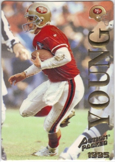 1995 Action Packed #13 Steve Young