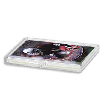 15 CT HINGED CARD PLASTIC BOX  - ULTRA PRO