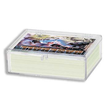 50 COUNT HINGED PLASTIC CARD BOX - ULTRA PRO