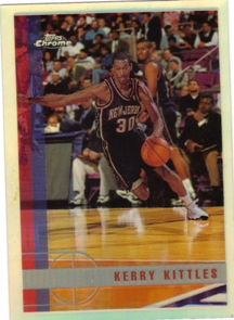 1997-98 Topps Chrome Refractors #219 Kerry Kittles