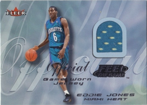 2000-01 Fleer Feel the Game #12 Eddie Jones