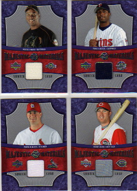 2005 Sweet Spot Majestic Materials #MM Mark Mulder