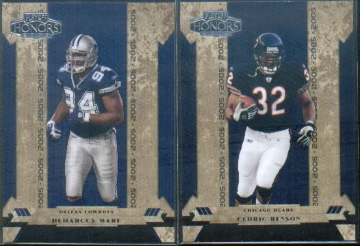 2005 Playoff Honors #101 Cedric Benson RC