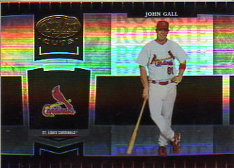 2004 Leaf Certified Cuts #275 John Gall ROO/499 RC