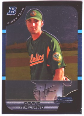 2005 Bowman Chrome Draft #72 Craig Italiano FY RC