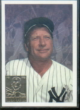 1996 Topps #F7 Mickey Mantle Last Day
