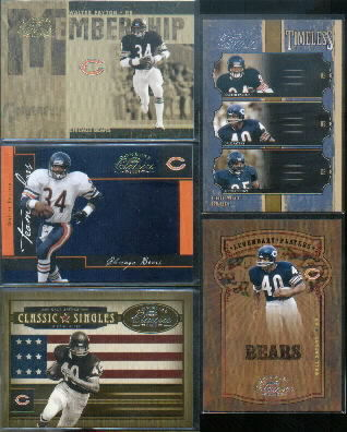 2005 Donruss Classics Classic Singles Silver #9 Gale Sayers