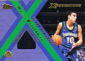 2001-02 Topps Xpectations Class Challenge #CCWS Wally Szczerbiak