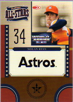 2004 Donruss World Series Playoff All-Stars #13 Nolan Ryan