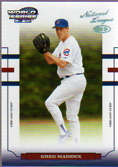2004 Donruss World Series HoloFoil 25 #38 Greg Maddux