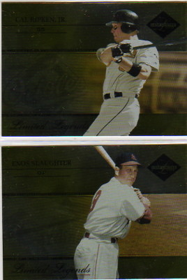 2005 Leaf Limited Legends #17 Enos Slaughter